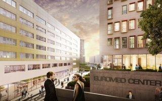 Le chantier d'Euromed Center redessine déjà le paysage marseillais Batiweb