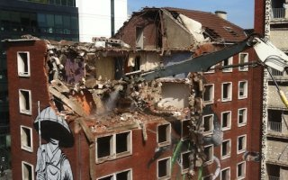 La Tour Paris 13 en phase de « grignotage » pour une démolition progressive