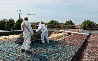 L'OPPBTP va cartographier l'empoussièrement amiante des chantiers