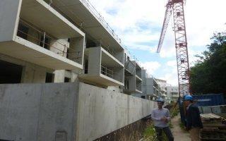 Un béton isolant pour deux bâtiments du parc social