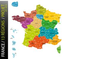 13 régions en France : bientôt une réalité ? - Batiweb