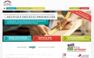 SAGE facilite l'accès des artisans aux éco-primes CEE - Batiweb