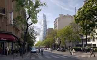 Le projet de Tour Triangle s'effondre Batiweb