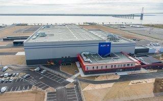 (Vidéo) Visitez le site de construction d'éoliennes en mer d'Alstom - Batiweb