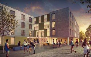 La construction modulaire bois, en réponse à la pénurie de logements étudiants - Batiweb