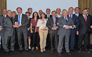 Sept réalisations ont été récompensées des Pyramides d'Argent