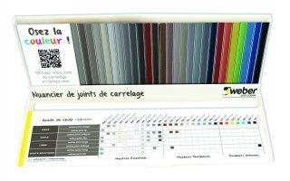 Weber Saint-Gobain présente sa nouvelle gamme de joints colorés - Batiweb