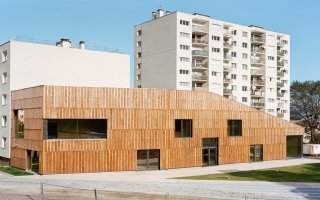 Un centre socioculturel haut en performance Batiweb