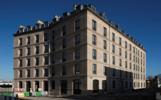 A Saint-Denis (93), l'immeuble Coignet 1856 s'est refait une beauté Batiweb