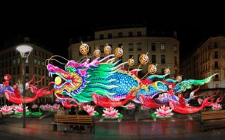 Lyon s'invite à la Fête des Lanternes de Zigong (Chine)