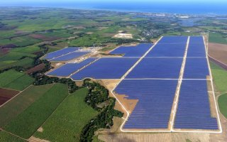 Bouygues livre la plus grande ferme solaire d'Asie du Sud-Est