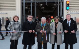 Lafarge France inaugure un nouvel atelier de déchets solides broyés - Batiweb