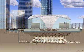 Vinci Construction et Spie Batignolles réaliseront la future gare CNIT-La Défense - Batiweb