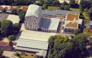 Nouveau bâtiment de 3 500 m2 pour l'ESTP Batiweb