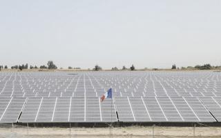 A Zmorot, EDF EN met en service une centrale solaire photovoltaïque