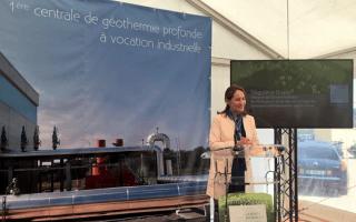 Ségolène Royal inaugure la première centrale géothermique profonde industrielle - Batiweb