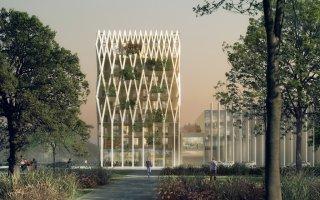 Un immeuble en bois de 35 mètres de haut prévu à Nice en 2018 Batiweb