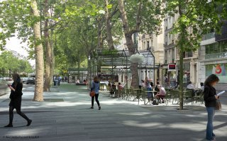 L'agence Ilex Paysage et Urbanisme va réaliser « les allées de Neuilly » Batiweb