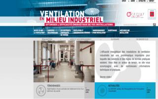Ventilation industrielle : un nouveau site pour vous guider !
