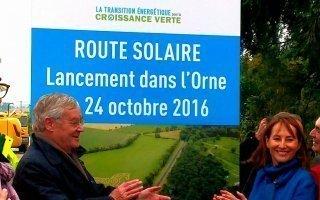 Route solaire de Tourouvre : une première mondiale au service de l'environnement - Batiweb