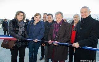 Auxerre inaugure une nouvelle chaufferie biomasse - Batiweb
