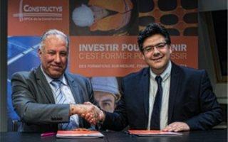 La formation au coeur d'un partenariat entre Constructys et Bouygues Batiweb