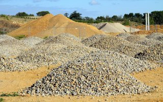 La production de granulats devrait augmenter de 2% en 2017 Batiweb