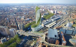 L'Occitanie Tower, une tour végétalisée au cœur de Toulouse