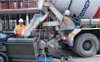 Cemex réalise la chape fluide d'une tour de 16 étages