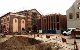 Sélestat (67): la Bibliothèque humaniste au cœur d'un chantier de grande envergure