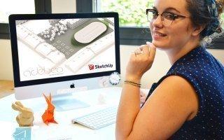 « SketchUp est le logiciel de modélisation 3D le plus utilisé au monde », Lucille Montaron - Batiweb