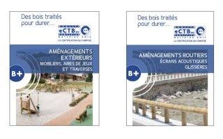 CTB-B+ publie des fiches pratiques autour des aménagements extérieurs et routiers en bois