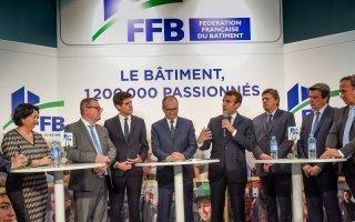 Emmanuel Macron aux 24 heures du bâtiment : des déclarations qui ne font pas l'unanimité Batiweb