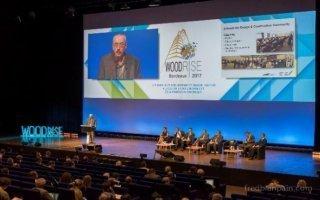 Plus de 2 500 participants au congrès Woodrise, une seconde édition déjà annoncée ! - Batiweb