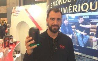 Batimat: «Le BLK360, un scanner laser à imagerie», Jonathan Choinard Batiweb