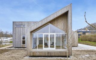 Kebony habille la façade de la première maison biologique au monde