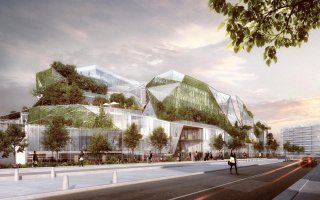 Un bâtiment biomimétique s'invite à Paris - Batiweb