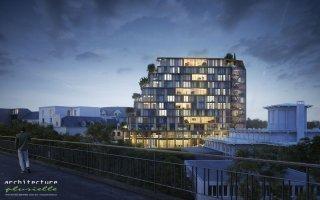 Un bâtiment exemplaire en bois pour le futur quartier EuroRennes - Batiweb