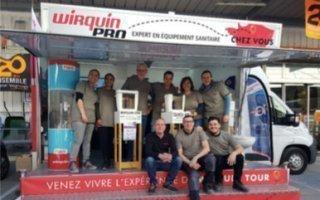 100 étapes françaises pour le prochain Wirquin Tour - Batiweb
