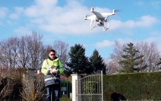 Imerys Toiture fait le choix des drones pour assurer la sécurité de ses techniciens