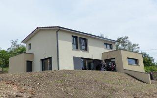 Rhône-Alpes : déjà une première maison labellisée E3 C1 - Batiweb