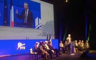 Bruno Le Maire rassure la Fédération Française du Bâtiment