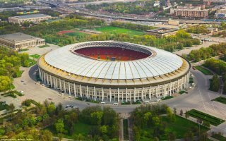 AGC omniprésent sur les sites d'accueil de la Coupe du Monde 2018