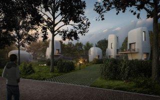 Projet Milestone : 5 maisons construites grâce à l'imprimante 3D aux Pays-Bas