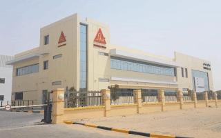 Sika choisit Dubaï pour sa nouvelle usine