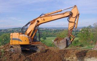 Début d'année compliqué pour les matériels de construction
