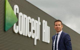 Yoann Arrivé devient Président directeur général de Concept Alu