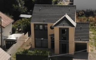 Une maison doublement labellisée NF Habitat HQE et E+C- en Île-de-France Batiweb
