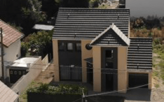 Une maison doublement labellisée NF Habitat HQE et E+C- en Île-de-France - Batiweb