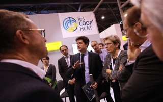 Julien Denormandie aux côtés des acteurs du logement social au Congrès de l'USH Batiweb